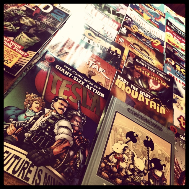 Comics, comic-books, comic-book, free-comic-book-day, comic collection, Tom-Kray