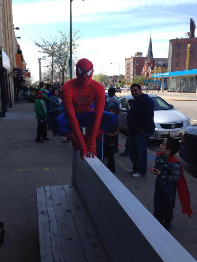 Spider-Man, Tom-Kray, Free-comic-book-day, g-mart-comics, cosplay, cosplayer