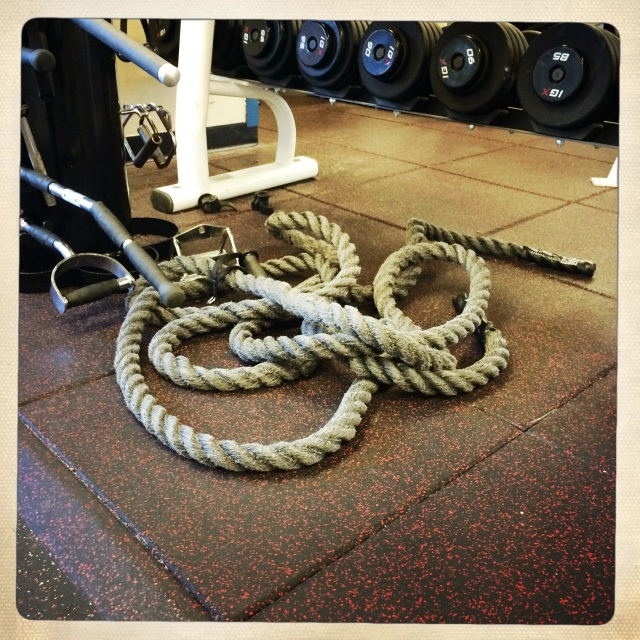 Gym, Tom-Kray, Battling-Rope