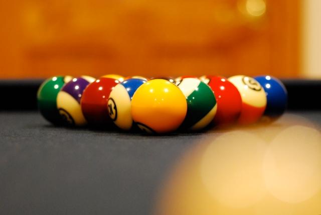 Tom-Kray, Billiards, cue-ball,